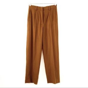 MaxMara Angora Rabbit & Virgin Wool Trouser Pants